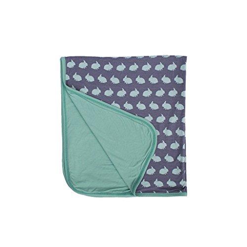 Kozi & Co. Stroller Blanket Newborn Baby Boys Bunny Hop Bunny Hop Baby Blanket