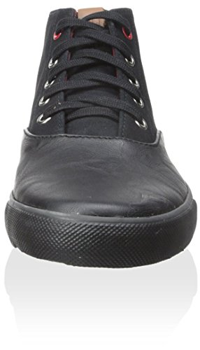 Ben Sherman Heren Percy Suede Fashion Sneaker Zwart
