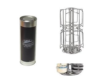 Dispensador de Cápsulas, Soporte de cápsulas, Soporte de cápsula en acero inox. para