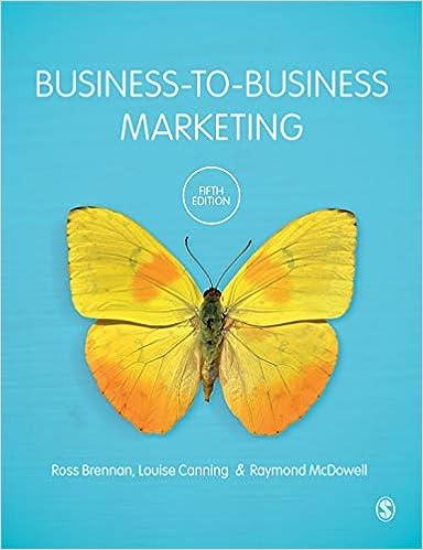 Business-to-Business Marketing, 5th Edition - Original PDF