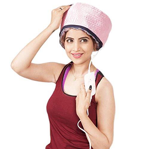 ALWAFLI Hair Care SPA Cap Beauty Treatment Spa Cap Hair Steamer (Color May Vary)