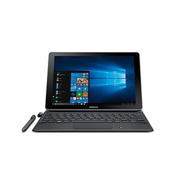 """Samsung Galaxy Book 10.6"""" Windows 2-in-1 PC (Wi-Fi) Silver, 4GB RAM/64GB storage, SM-W620NZKBXAR 3"""