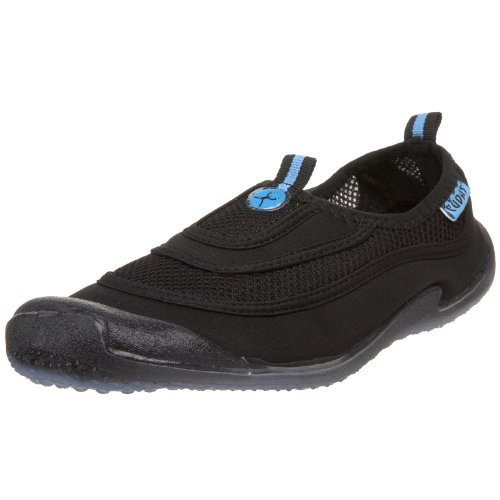 Cudas Women's Flatwater Water Shoe,Black,7 M US