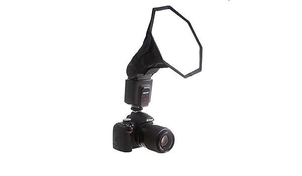 yan/_Universal 6 Octagon Softbox Lighting for Canon Nikon Flash Speedlight EM#01