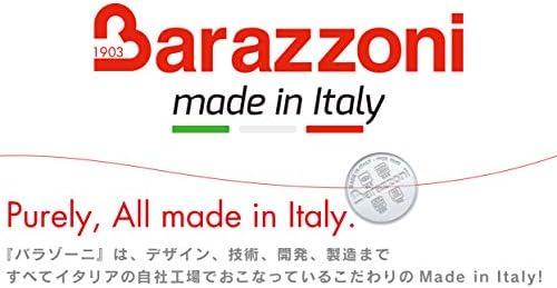 Barazzoni - Poêle ø32 cm série Le Inoxidabile, Acier Inoxydable 18/10, argenté, 32 cm