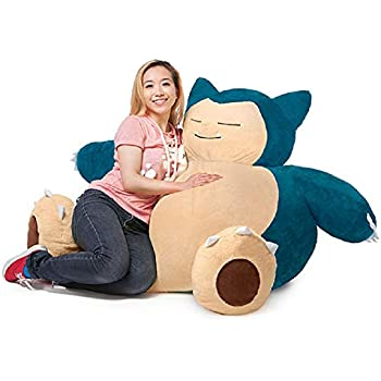 Amazon Com Pokemon Snorlax Bean Bag Chair Kitchen Amp Dining