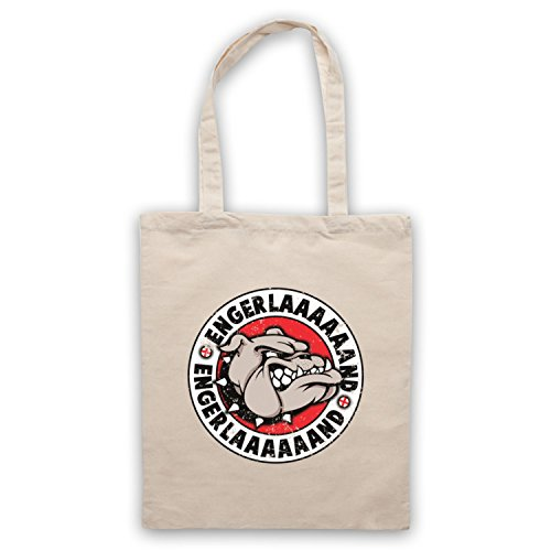 My Icon Art & Clothing English Bulldog England Parody Engerlaaaaaand Bolso Natural