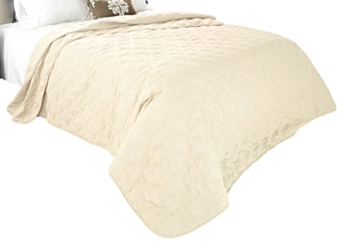 Solid Color Quilt by Bedford Home Full/Queen - Ivory