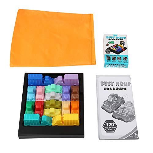 Haofy Traffic Jam Logic Game Car, 1Pc Traffic Jam Puzzle Children Logic Thinking Game Kids Boys Problem Solving Skills Toy