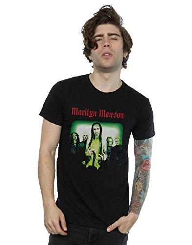 Marilyn Manson Men's Holywood Group T-Shirt XXX-Large Black