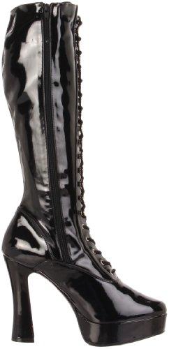Pleaser Schwarz Negro Electra Mujer lack Botas 2023 Para rrU1W