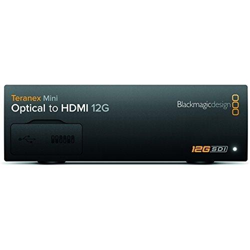 Blackmagic Design Teranex Mini Conversor Otico para HDMI 12G