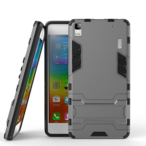 Slim Armor Case For Lenovo A7000 (black) - 9