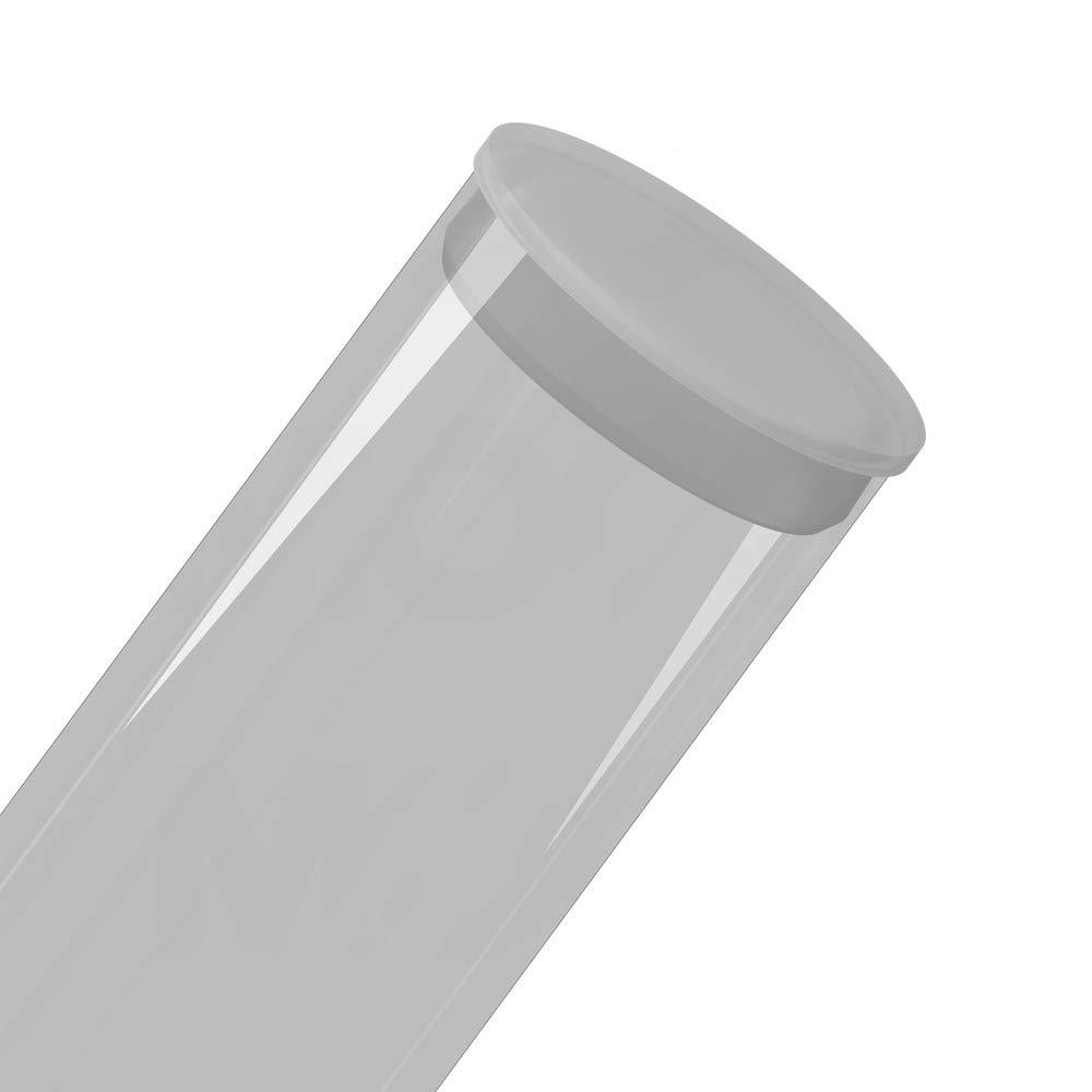 qty10 Round Polypropylene Plugs 4 Poly Plug Natural MOCAP PRP4.000NAT