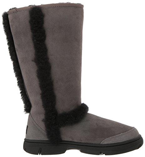 UGG Frauen Sunburst Tall Fashion Boot Grau schwarz
