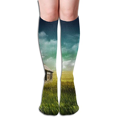 Long Stocking Face The Nature Women's Over Knee Thigh Winter Warm Sexy Stocks Knitting Welt -