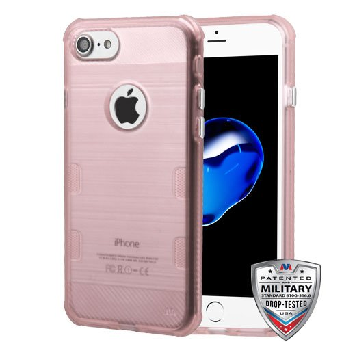 Price comparison product image Asmyna Cell Phone Case for Apple iPhone 7 - Rose Gold