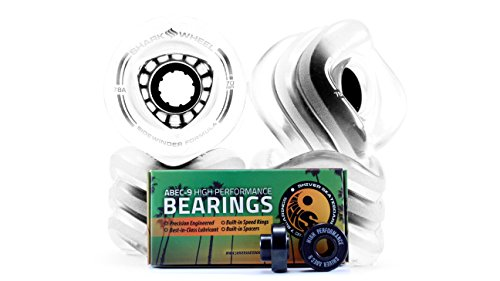 Shark Wheel Formula bearings spacers