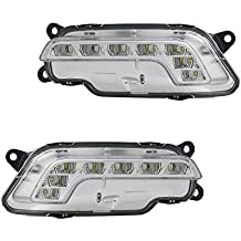 NEW DAY TIME RUNNING LIGHT PAIR FITS MERCEDES BENZ E400 E500 13-14 212-820-08-56 2128200856 2128200756 212 820 08 56 212-820-07-56 MB2563100 MB2562100