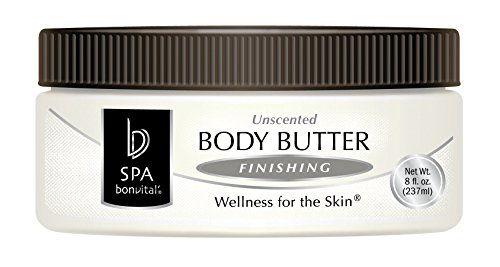 Bon Vital' Body Butter, Unscented Whipped Moisturizer with Cocoa Butter, Shea Butter, & Beeswax, Hypoallergenic Lotion, Professional Spa Quality Thick Lotion for Dry Patches & Skin, 1 Gallon - Whipped Butter Shea Unscented