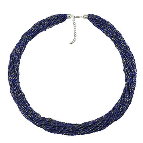 Bocar Long Multiple Row Beads 33