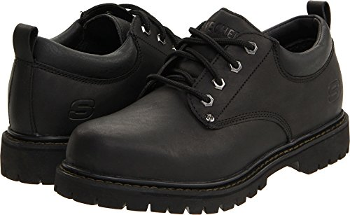 Skechers USA Men's Tom Cat Utility Shoe,Black,13 M US