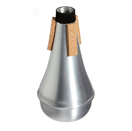 Honbay Lightweight Aluminum Practice Trumpet Mute Silencer for Jazz