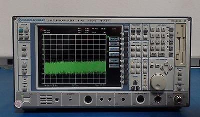 Rohde & Schwarz FSEA 20 Opt B4 Low Phase Noise Spectrum Analyzer 9kHz - 3.5GHz