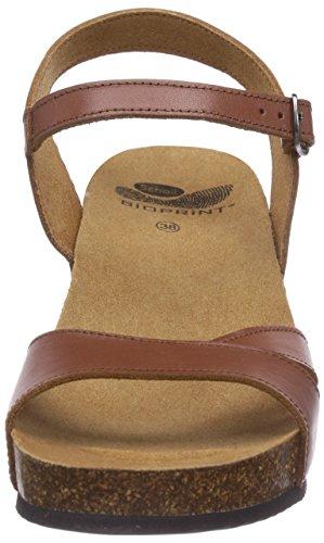 Scholl ARAMBE tan - zapatos con cierre al tobillo de cuero mujer marrón - Braun (Tan)
