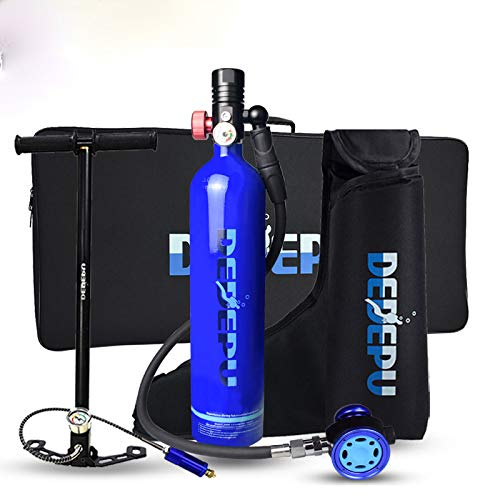 DEDEPU Mini Scuba 1L Diving Tank Underwater