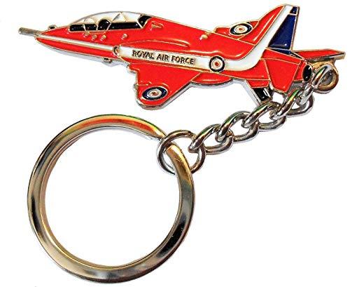 Red Arrows Royal Air Force RAF Aircraft Display Team Metal Enamel Keychain