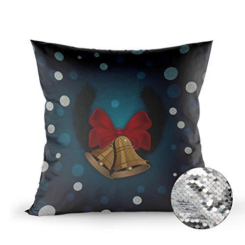 Reversible Sequins Mermaid Pillow Cover, 20