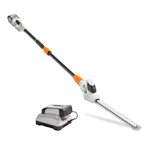 VonHaus 40V Max Cordless 20 Pole Hedge Trimmer with 83.8 to 107.5 Telescopic Extension – Includes 2.0Ah Battery and Charger