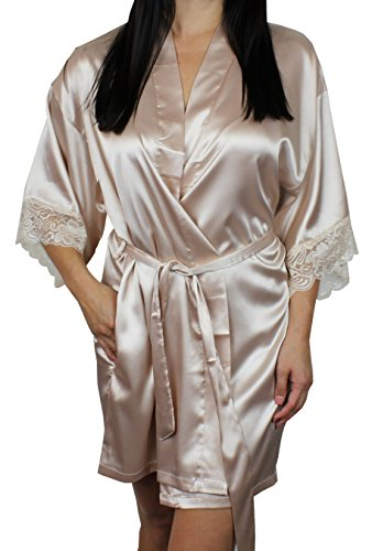 Womens Kimono Bridesmaid Sleeves Pockets