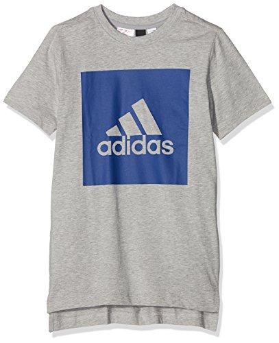 Front Reauni Gris Garçon T To Back Logo Adidas Multicolore brgrin shirt qnEwpUaav6