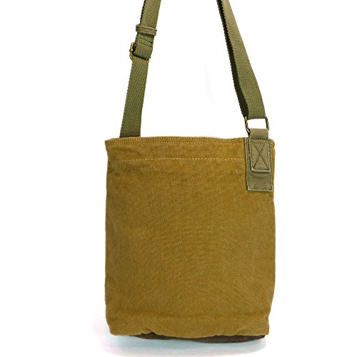 Brown Cross Piano Purse Fob Key Coin Tote with Canvas Bags Chala Cotton body Grand qpxUFUOwR