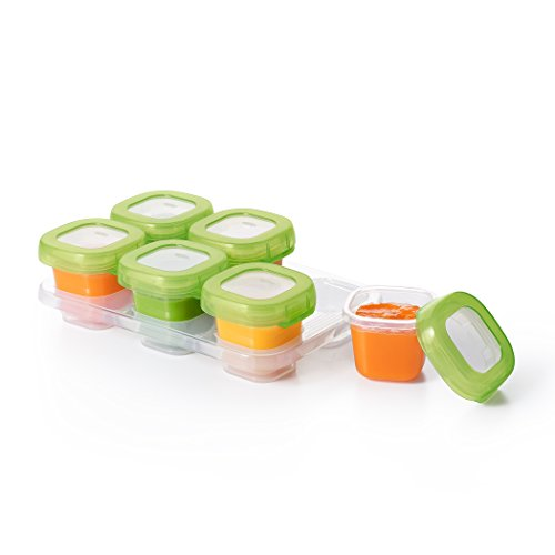 OXO Tot Baby Blocks Freezer Storage Containers - 2 oz (Circle Baby Gate)