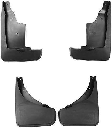 Color : Black 4pcs Set Voiture Boue Rabats for Jeep Compass 2011 2012 2013 2014 2015 2016 Garde-Boue Garde Splash Fenders Accessoires Auto