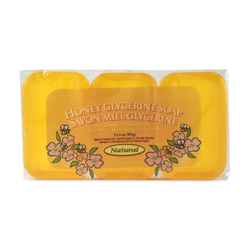 - Natural Soap 3 Pack 3 bar by Honey&Glycerin