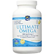 Nordic Naturals - Ultimate Omega, Support for a Healthy Heart, Lemon, 180 Soft Gels