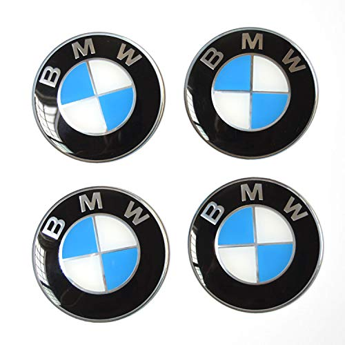 4 x 56.5mm Car Lettering BBS Wheel Center Cap Sticker Wheel Emblem Badge Logo Stickers (fit ()