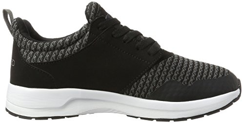 Kappa Tray Ii, Zapatillas Unisex Adulto Negro (1116 Black/grey)
