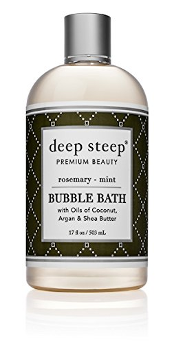 (Deep Steep Rosemary Mint Bubble Bath - 17 Fluid Ounces)
