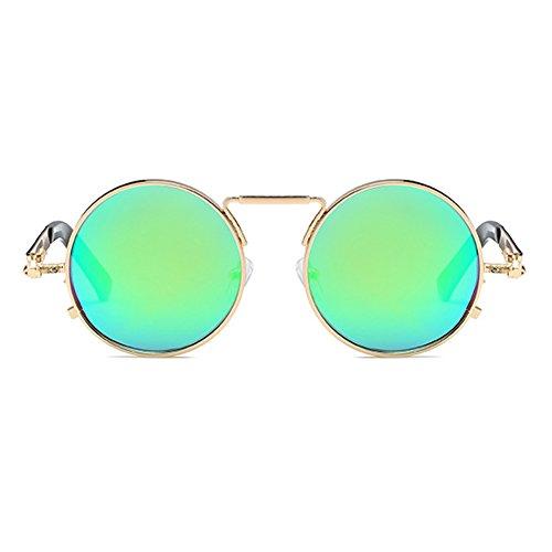 fbdf1e2abc 85% OFF Gafas de sol polarizadas de Highdas Hombres Gafas de sol redondas  Gafas de
