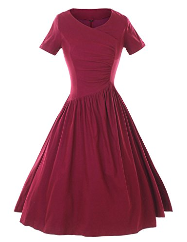 GownTown-1950s-Rockabilly-Stretchy-Vintage-Dresses