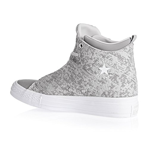 Converse Textile Chuck gris Womens Trainers Taylor Selene Winter Knit Mid rarxH7wq