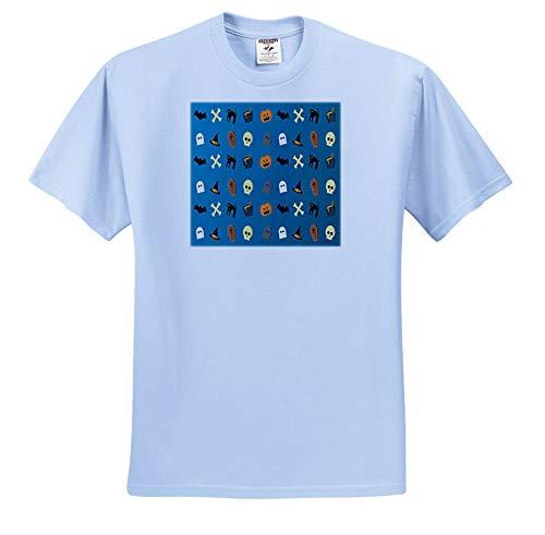 Sandy Mertens Halloween Designs - Halloween Cats, Pumpkins, Bats, Ghosts, Hats Pattern, 3drsmm - T-Shirts - Toddler Light-Blue-T-Shirt (3T) (ts_290238_64)]()