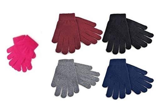 12 Pairs Ladies Winter Magic Gloves RJM Accessories GL155