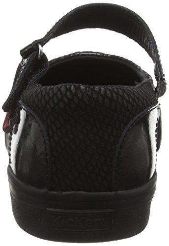 Kickers Tovni MJ Zapatos Mary Jane para Mujer Negro