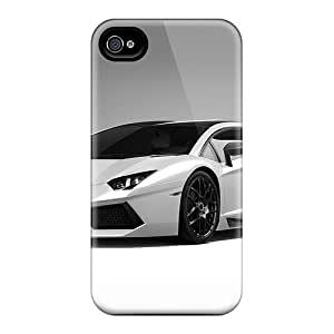 GraceannMJackson Case Cover Protector Specially Made For Iphone 4/4s Lamborghini Aventado Lp700